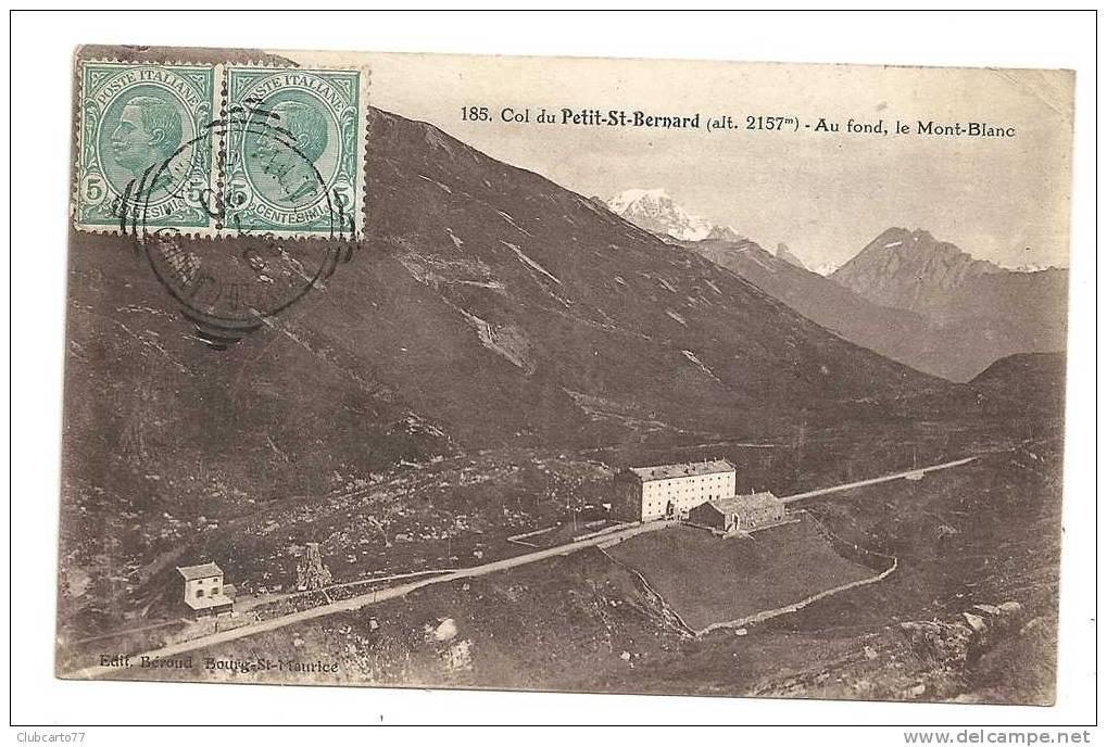 Col Du Petit Saint-Bernard (Italie) : Vue Générale Env 1920 (animée). - Italia