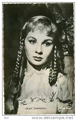 Jean Simmons - Femmes Célèbres