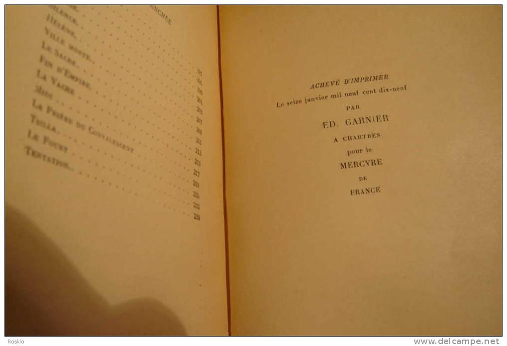 LIVRE ANCIEN / OEUVRES DE ALBERT SAMAIN 1919 EDT MERCURE - Art