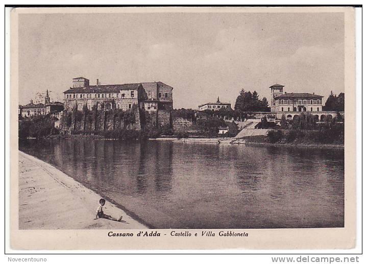 PIEMONTE - Milano- Cassano D´Adda - Castello E Via Gabbioneta - Milano (Milan)