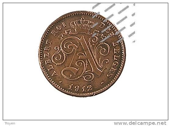 2 Centimes - 1912 - Cu. - TTB - 02. 2 Centimes