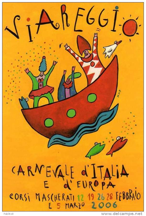 CARTOLINA CARNEVALE DI VIAREGGIO - Carnevale