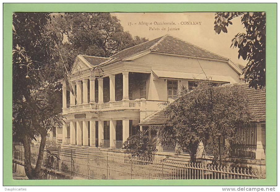 Conakry : Palais De Justice. Edition James - Guinée Française