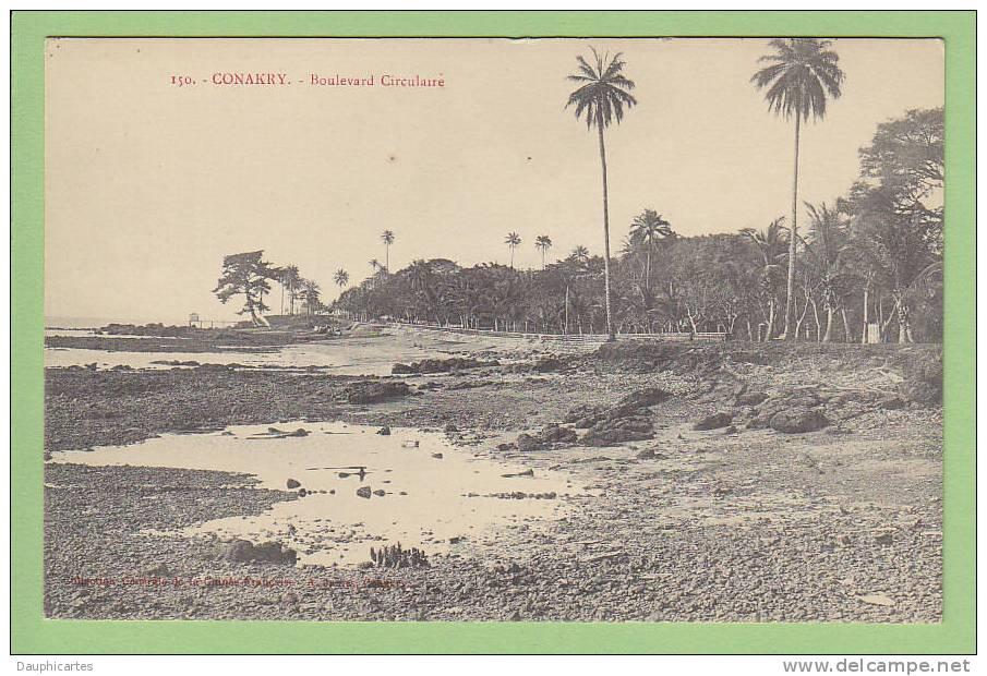 Conakry : Boulevard Circulaire. Edition James - Guinée Française