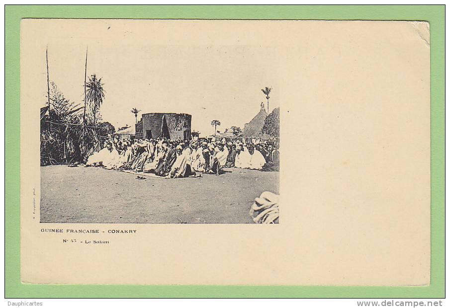 Conakry : Le Salam. N° 45. Guinée Française. Ed. Bouquillon - Guinée Française