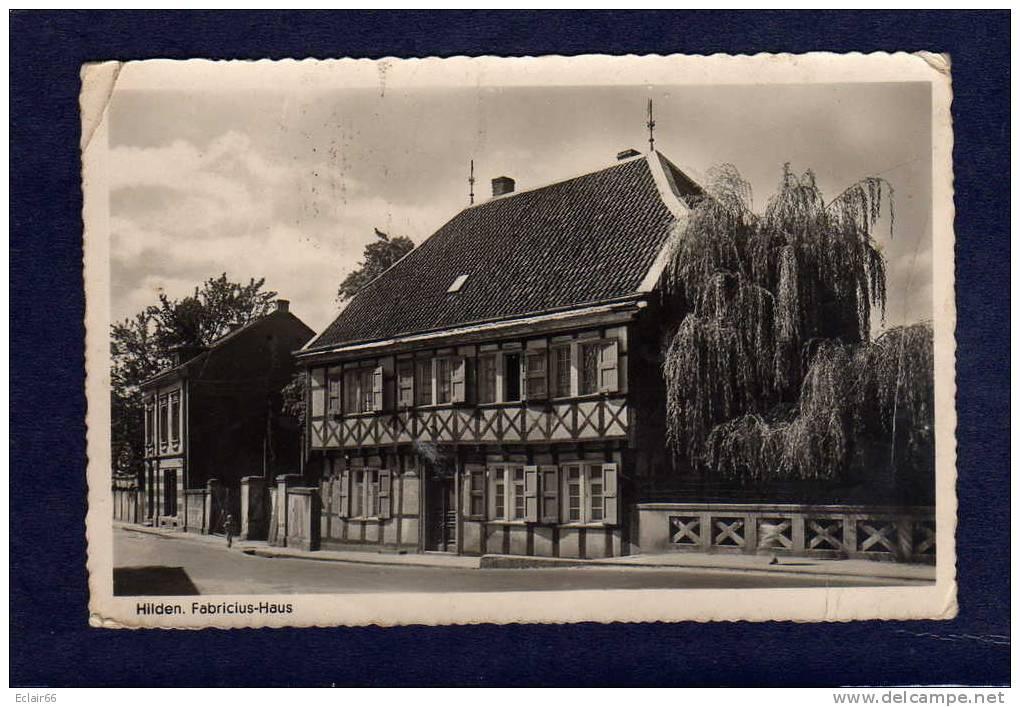 Allemagne     HIDEN     CPSM  FABRICIUS  - HAUS     Fabriciushaus - Hilden