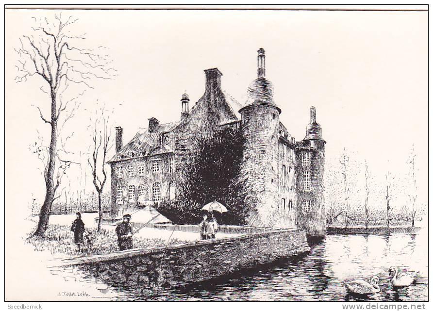 16777 Route Des Haras Et Des Châteaux Chateau Flers - Dessin Illustrateur Tollet Loeb  Bouquerel - France
