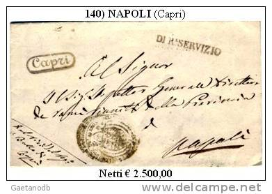 Capri-00140 - Piego (con Testo).del 24 Ottobre 1857 - - Italia