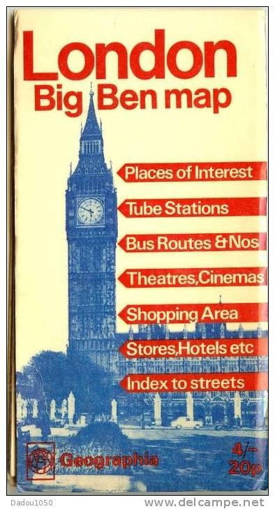 LONDRE  Plan - Mappe