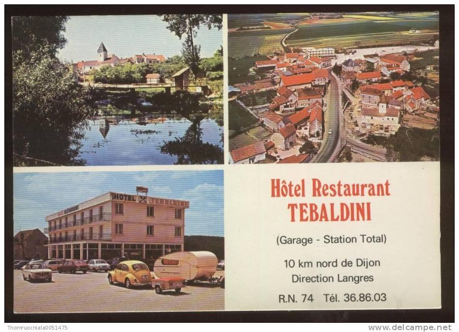 NORGES-la-VILLE           Multivues   Hôtel Restaurant TEBALDINI - Non Classés