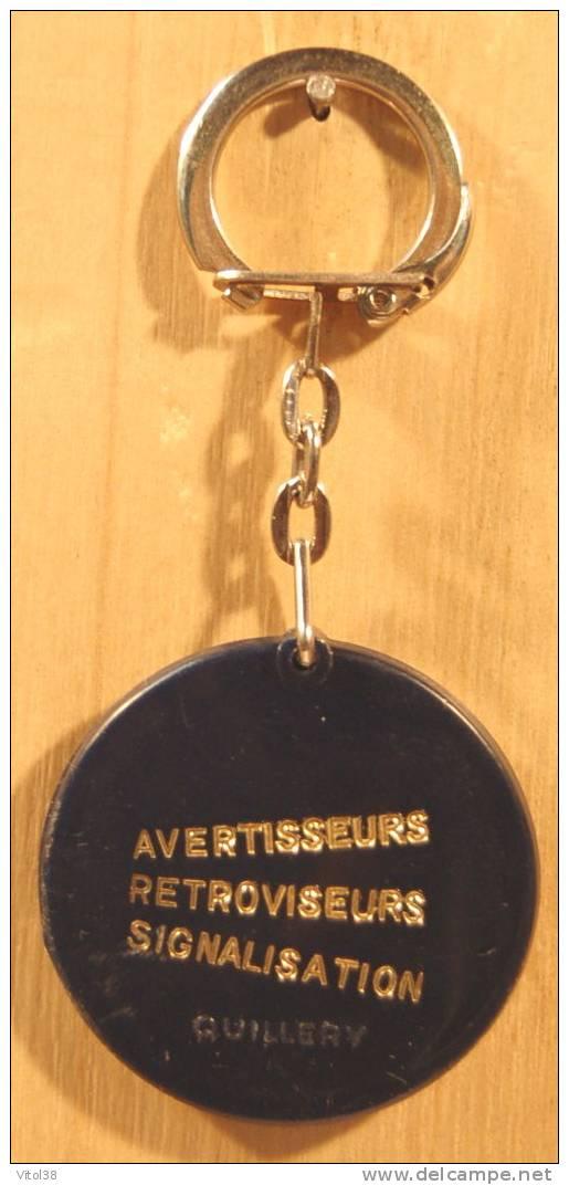 PORTE CLEF S & R SCINTEX SANOR AVERTISSEURS RETROVISEURS SIGNALISATION . QUILLERY - Porte-clefs