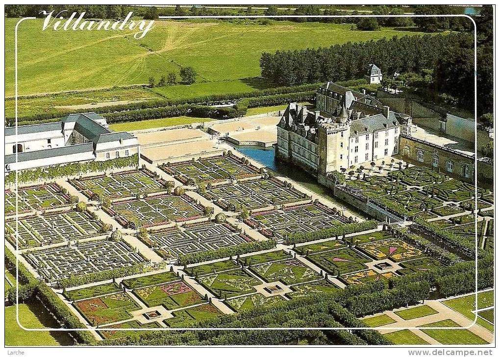 Dép. 37 - VILLANDRY - Le Château De Villandry Et Les Jardins - Ed ARTAUD Fréres -n°N 52 - Châteaux