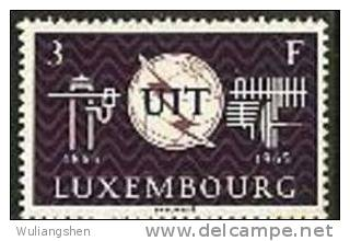 LM0147 Luxembourg 1965 ITU Hundred Years 1v MNH - Lussemburgo