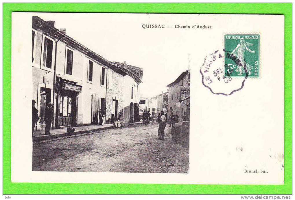 QUISSAC - Chemin D´Anduze (Pharmacie) - Quissac