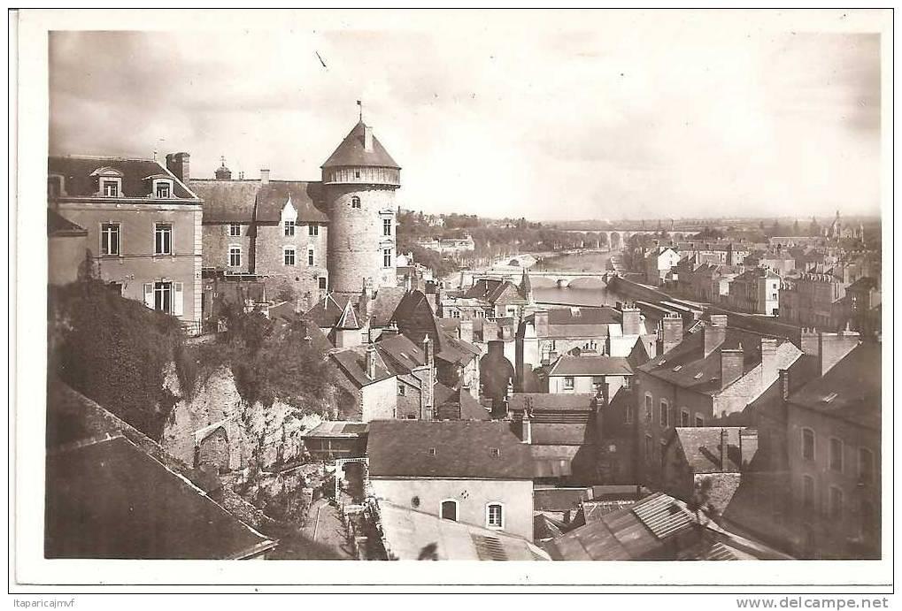 J   Mayenne  : LAVAL  :                Vue    ( A    BRUEL  ANGERS ) - Laval