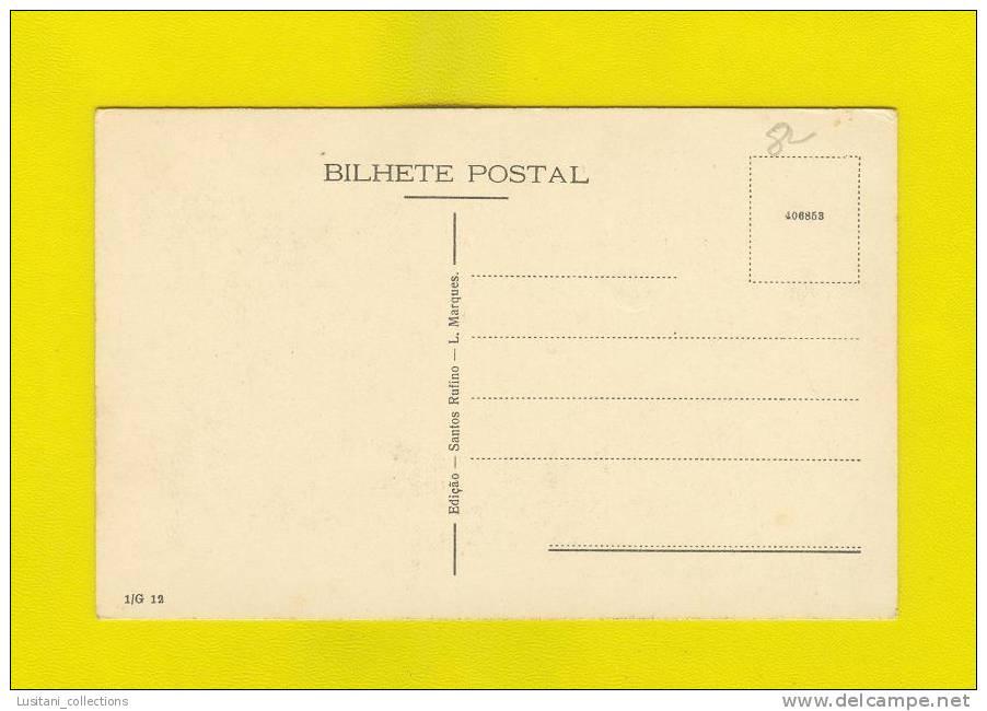 ..... Postcard AFRICA MOZAMBIQUE BLACK NATIVE WARRORS 1920s Xx - Mozambique