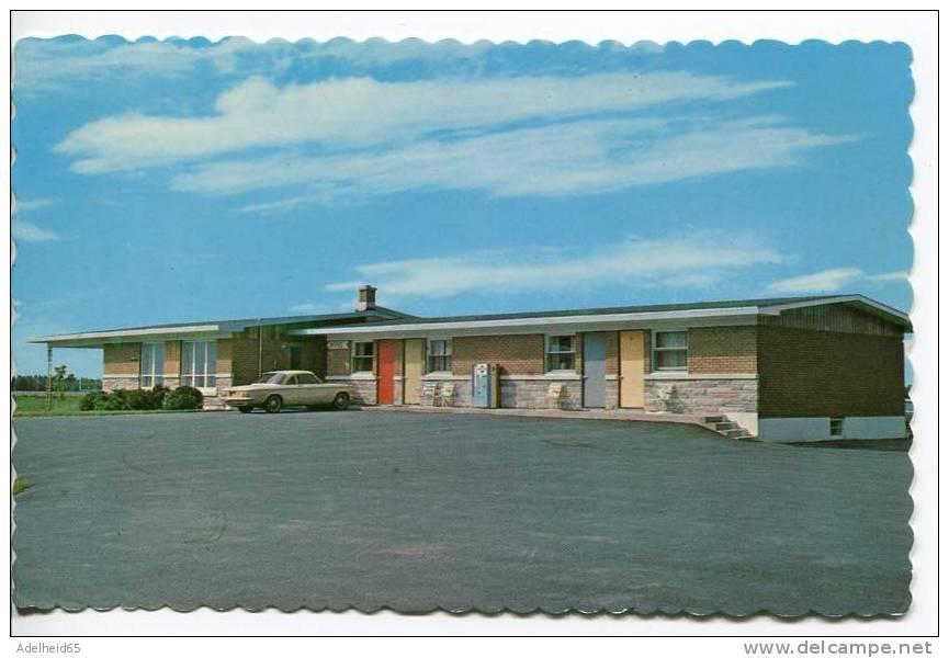 Le Copain Motel, Car, St-Thomas D'Aquin Quebec - St. Hyacinthe