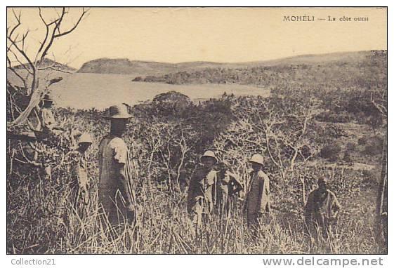COMORES ... MOHELI ... LA COTE OUEST - Comores