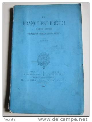 """La France Est Prête! En Réponse À L'ouvrage """" Pourquoi La France N'est Pas Prête"""".  Éditions Lavauzelle - Libri"""