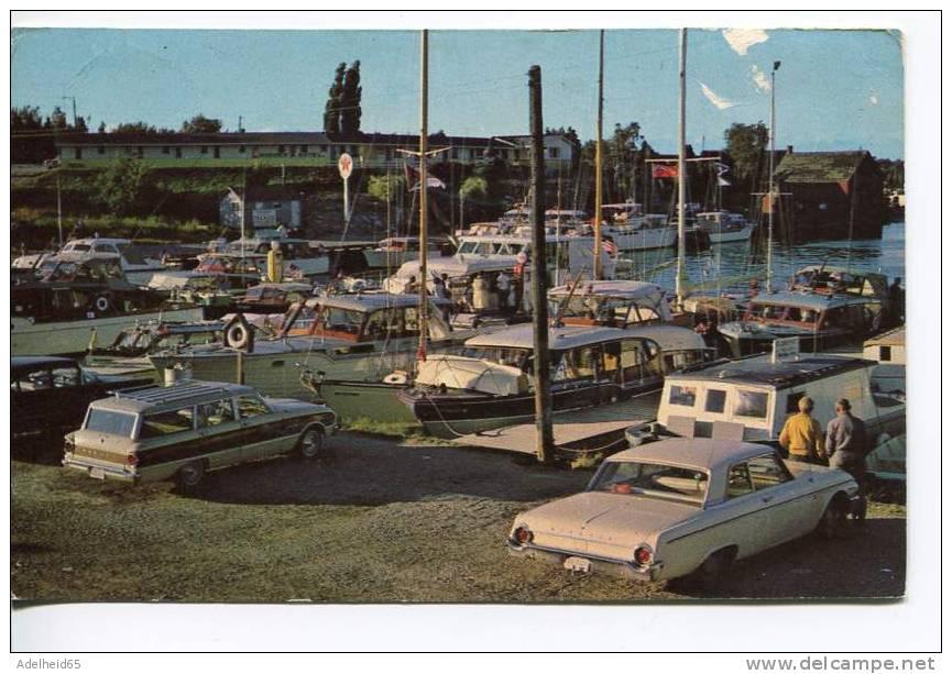 Harbor And Docks Tobermory Ontario, Cars, Boats - Non Classés