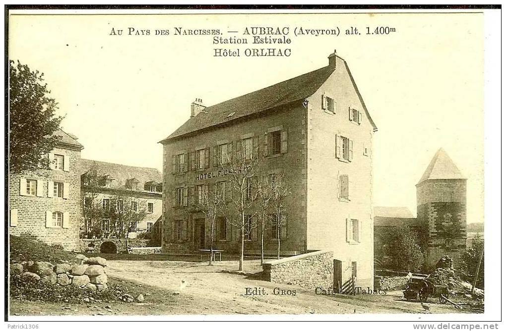 CPA  AUBRAC, Hôtel Orlhac  1591 - Andere Gemeenten