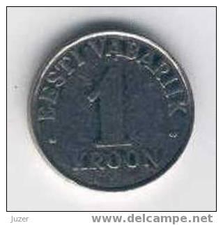 Estonia: 1 Kroon (1993) - Estonia