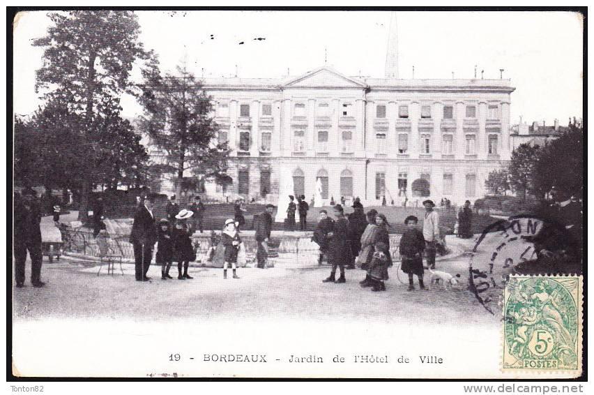 Bordeaux - Jardin De L' Hôtel De Ville - Bordeaux