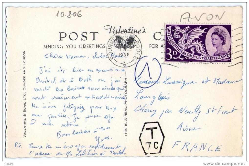 10806    Regno  Unito   Bath  Roman  Bath  VG  1958 - Bath