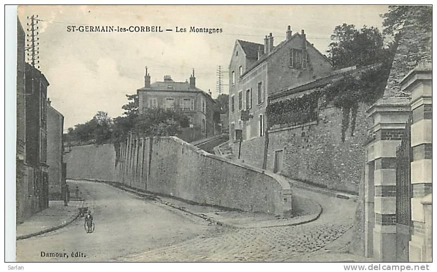 91 , SAINT GERMAIN LES CORBEIL , Les Montagnes , *6879 - France