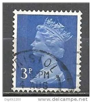 1 W Valeur Used, Oblitérée - YT 610 - GRANDE BRETAGNE  * 1970/1980 - N° 2089-15 - 1952-.... (Elizabeth II)