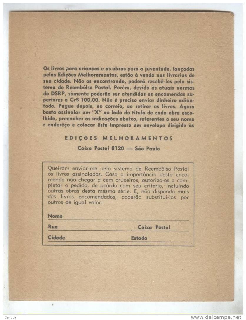 PUB BRESIL CATALOGUE LIVRES POUR ENFANTS PRIMAVERA - Livres, BD, Revues