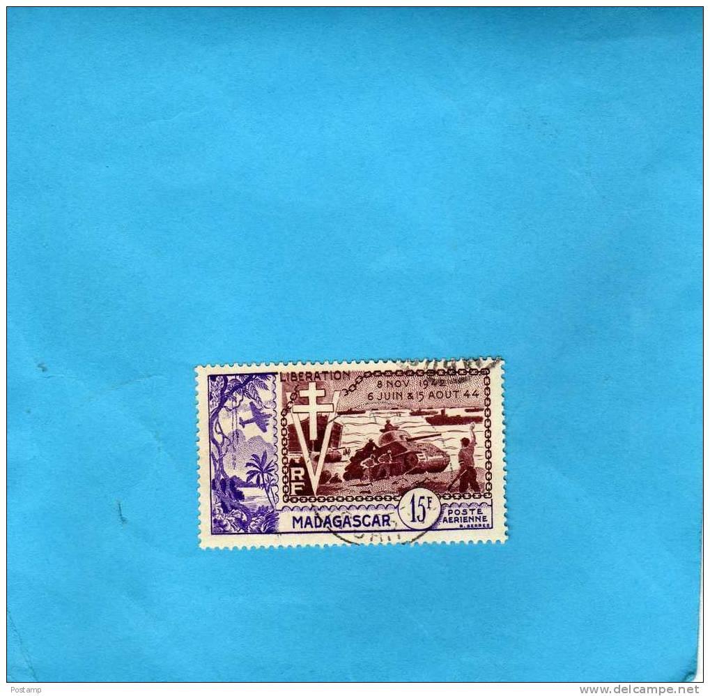MADAGASCAR-A N° 74- Belle   Oblitération  --cote 4,8 Eu - Madagascar (1889-1960)