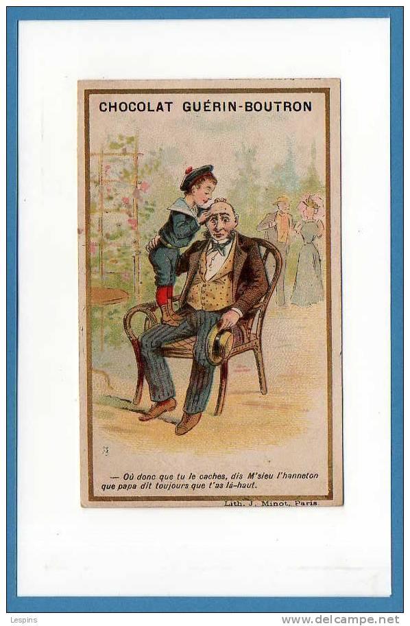 GUERIN BOUTRON -- Ou Donc Que Tu Le Cache.... - Kaufmanns- Und Zigarettenbilder