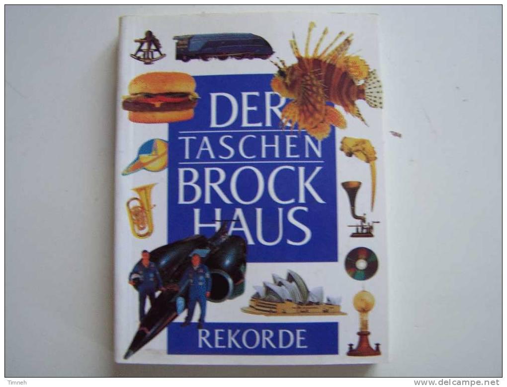 N°5. Der Taschen BROCKHAUS REKORDE Petit Format 13cmX10cm Lexikon Für Uberall Themen- - Brockhaus
