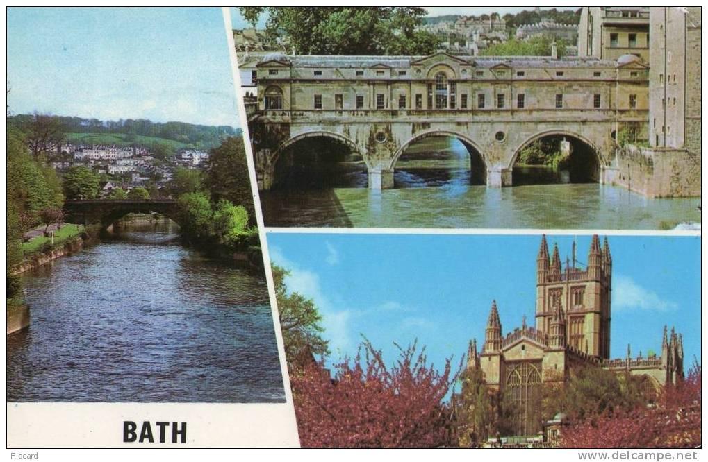 10850   Regno  Unito  Bath  The  River Avon  Pulteney  Bridge, The  Abbey  VG - Bath