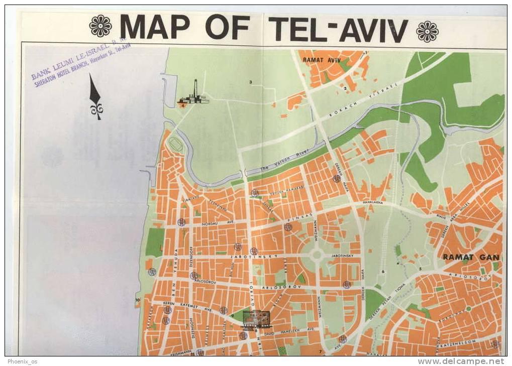 ISRAEL - Tel Aviv, Map, Guide - Exploration/Travel