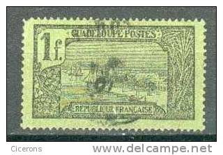 Collection GUADELOUPE ; Colonie ; 1905-07 ; Y&T N° 69 ; Oblitéré - Guadeloupe (1884-1947)