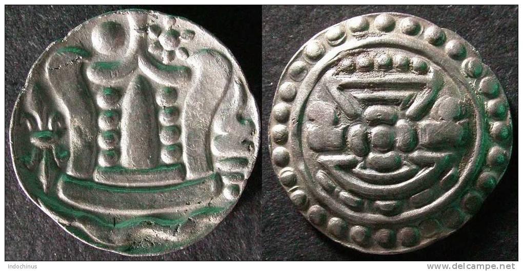 MYANMAR  Monnaie Argent / Silver  PYU  Cilivisation  BIRMANIE / BURMA / BIRMA  PORT OFFERT - Autres Pièces Antiques