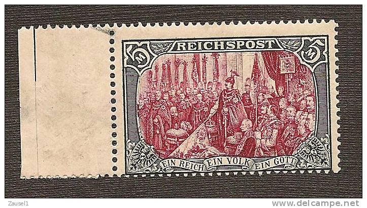 Deutsches Reich Germania Nr. 66  III - Postfrisch, Höher Geprüft BPP - Ungebraucht
