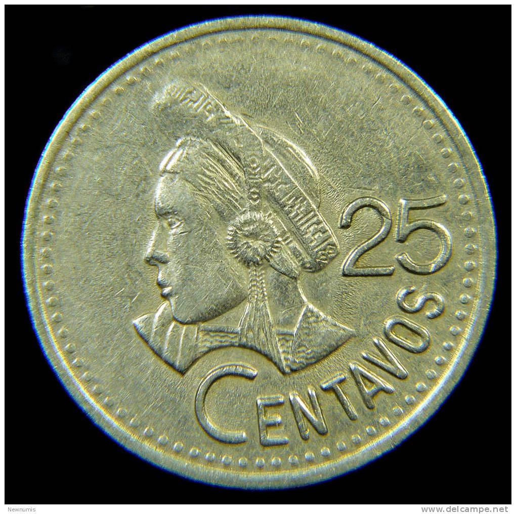 GUATEMALA 25 CENT1991 - Guatemala