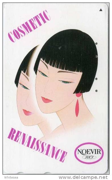 Telefonkarte Japan - Kosmetik,Cosmetic Renaissance  - Noevir -  110-166774 - Parfum