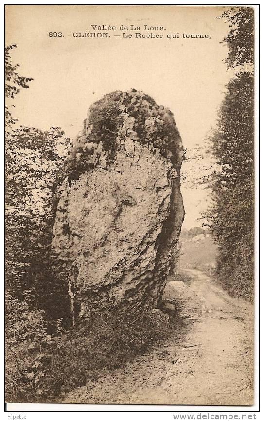 L700.1138 - Vallée De La Loue - Cléron - Le Rocher Qui Tourne - C Lardier  N°693 - France