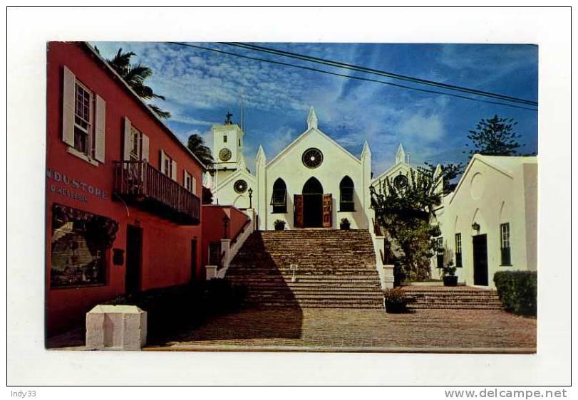 - ANTILLES . BERMUDES . HISTORIC ST. PETER'S CHURCH - Bermudes