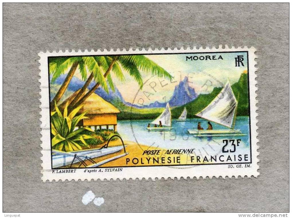 POLYNESIE Française : Paysage De Moorea - Tourisme - Vacances - - Poste Aérienne