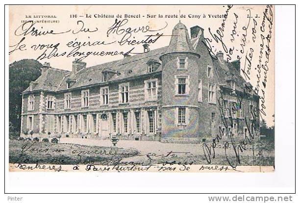 Le Château De Boscol - Sur La Route De Cany à Yvetot - France