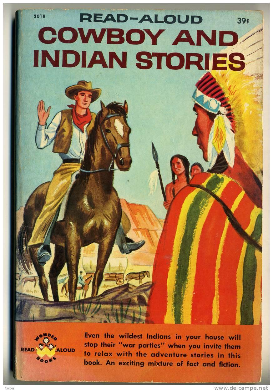 "Indiens Et Cow Boys READ ALOUD ""Cow Boys And Indian Stories"" 1959 - Livres, BD, Revues"