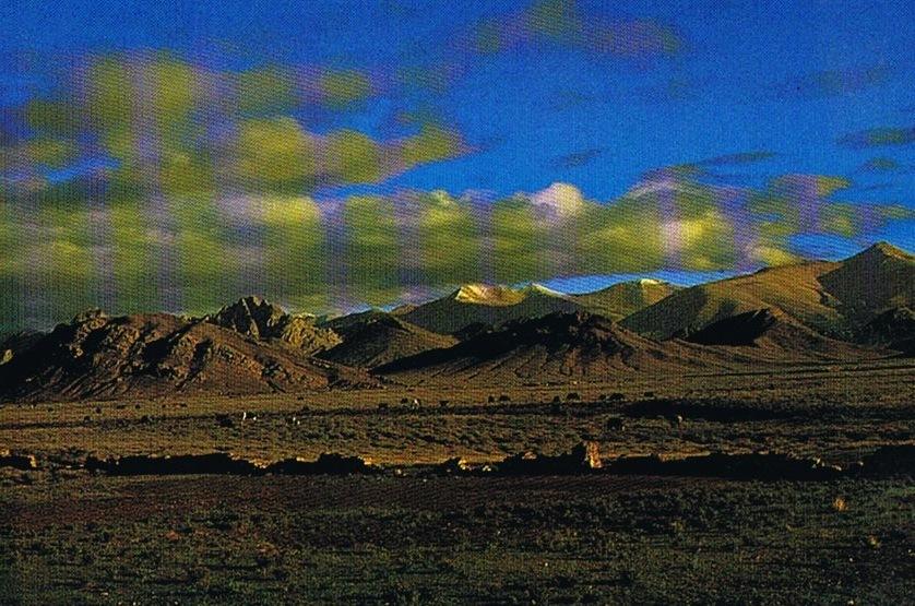 TIBET - Lumière Tibetaine - Cpm Grand Format  Pub Alticoop - Photo Alticoop -PRIX NET - Tibet