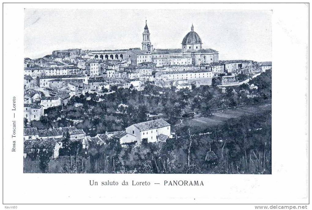 ESPAGNE LORETO Un Saluto De Loreto Panorama - Ancona