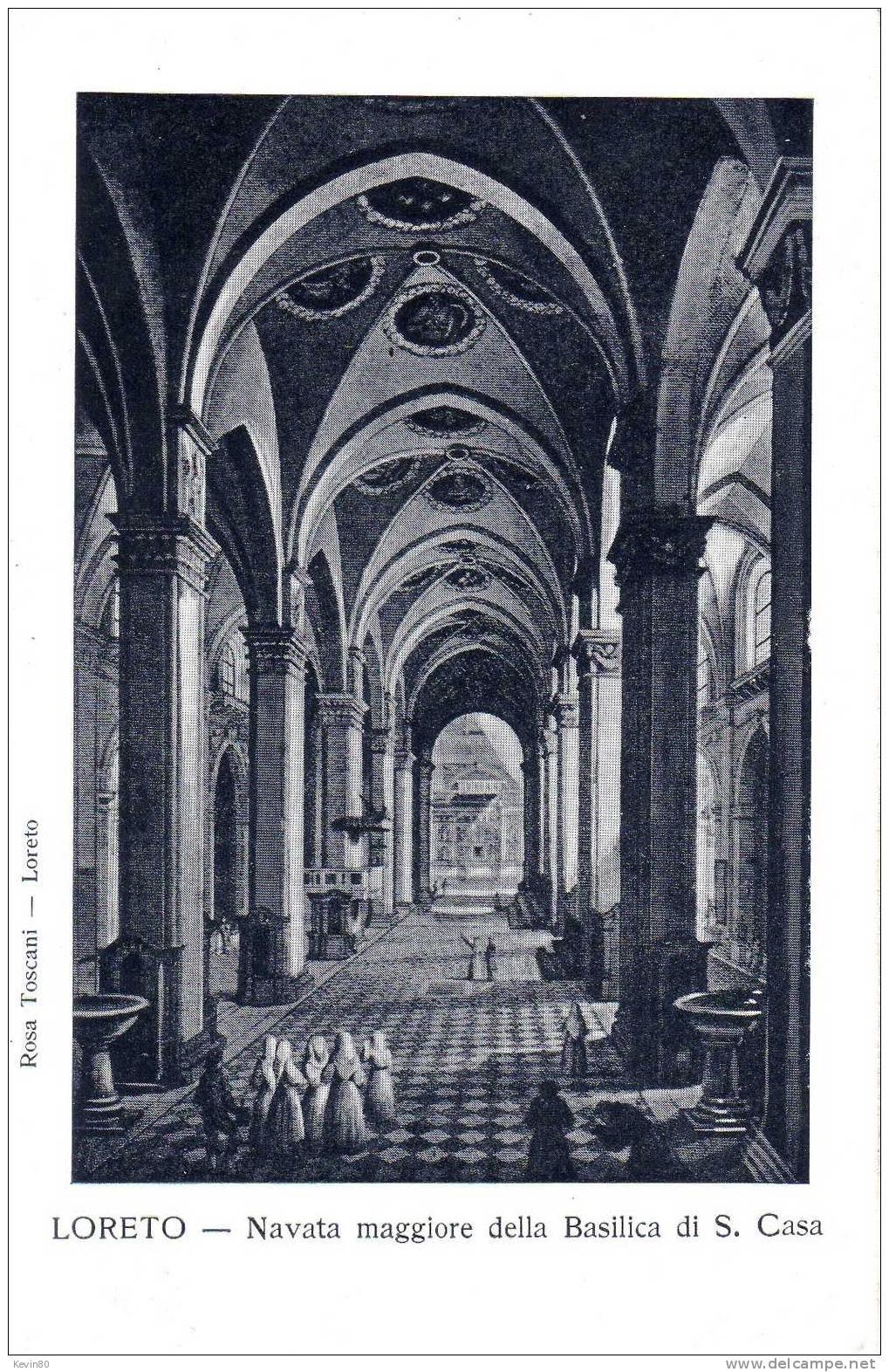 ESPAGNE LORETO Navata Maggiore Della Basilica Di S.Casa - Ancona