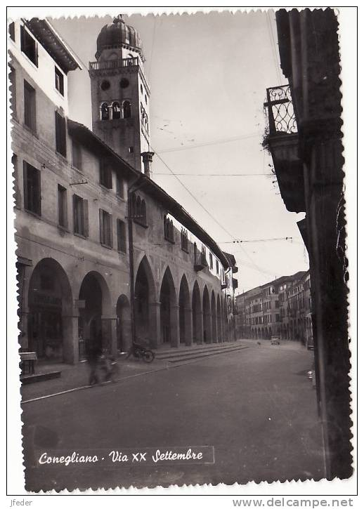 VENETO - Treviso -Conegliano- Via XX Settembre - Treviso